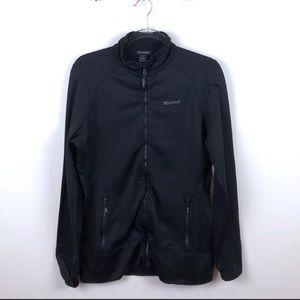 Marmot Black Zip Up Lightweight Jacket Large L